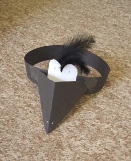 A bird mask