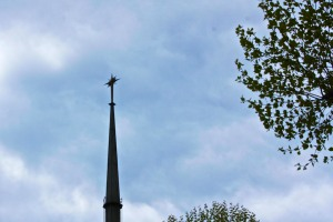 Church spire from the Aberfeldy