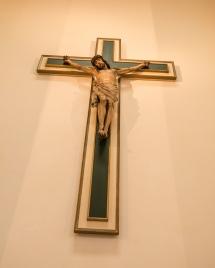Crucifix in St Nicholas Church, Jesus on Cross