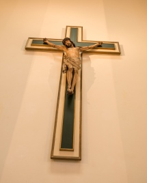 Crucifix in St Nicholas Church, Jesus on Cross